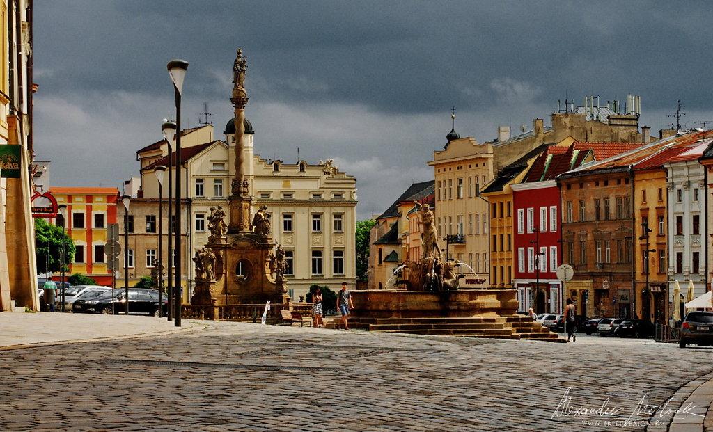 Olomouc - central square