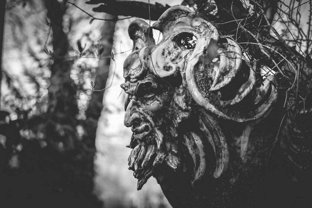 Demon at the Magic Cave